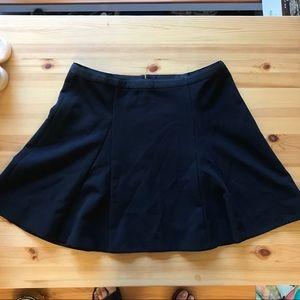 J Crew BLACK Skater Skirt